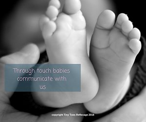 Baby Reflexology & Massage. TT babies communicate